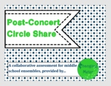 Post-Concert Circle-Share