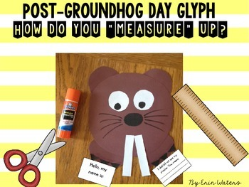 Groundhog Day Glyph & Writing Activity {For Use Before OR After}