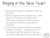 New Years Activities!