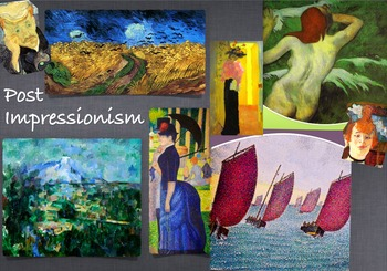 Post Impressionism Art History  ~ FREE POSTER