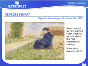 Post Impressionism ~ Characteristics and Techniques Presentation