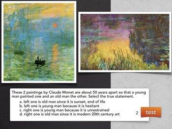 TESTS Impression & Post Impress Art History Visual Based Multiple Choice