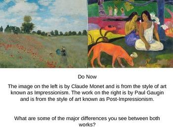 Post-Impressionism Powerpoint