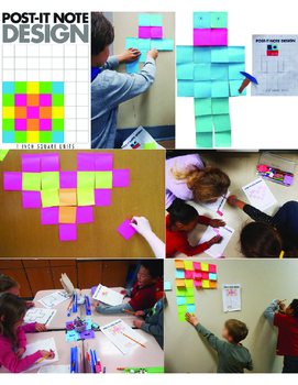 Post-It Note Art: Area and Perimeter