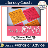 Post It LOVE! [FREEBIE]