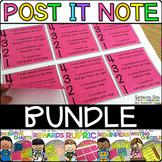 Post It Note Bundle