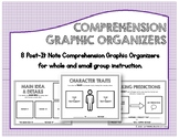 Post-It Note Comprehension Graphic Organizers