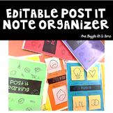 Post It Note Organizer