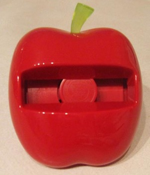 New Post It Notes Red Apple Dispenser for sticky notes Shi