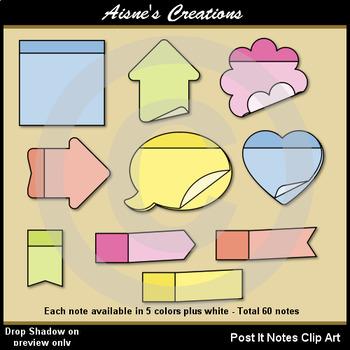 Post It Notes Clip Art