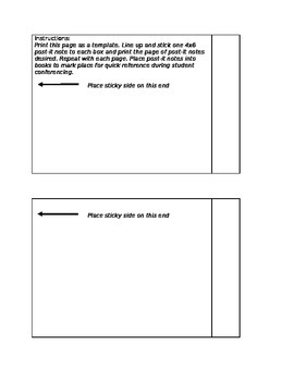 Post It Notes For Teaching Reading Strategies