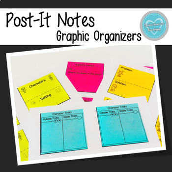 Post-It Notes Graphic Organizers