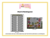 Post It Parking Lot Poster