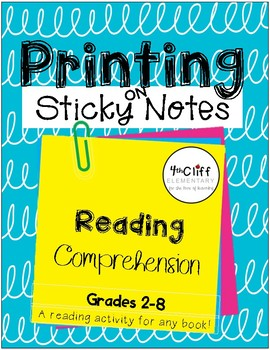 Post-It Printing: Reading Comprehension