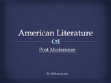 Post-Modernism - American Literary Movement Series, part VIII