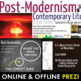 Post-Modernism, Contemporary American Literature Movement,