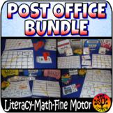 Post Office Bundle Mail Activities Math Literacy Post Offi