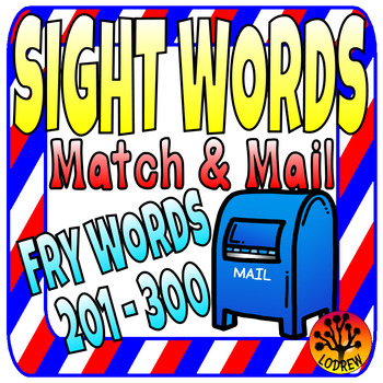 Fry Words 201 300 Teaching Resources