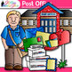 Post Office Clip Art {Postal Service Community Helpers for