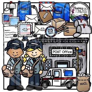 Post Office Clipart Bundle