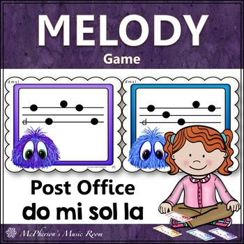 Do Mi Sol La Music Melody Game {Post Office}