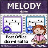 Music Melody Game Do Mi Sol La {Post Office}