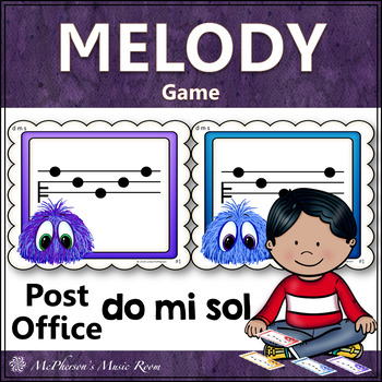 Post Office Do Mi Sol Melody Game