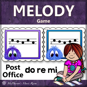Do Re Mi Music Melody Game {Post Office}