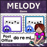 Music Melody Game Do Re Mi {Post Office}