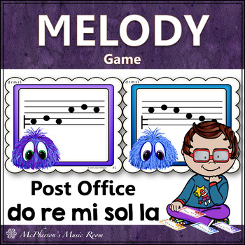 Post Office Do Re Mi Sol La Melody Game