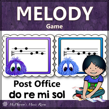 Do Re Mi Sol Music Melody Game {Post Office}