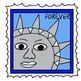 Post Office Doodles (BW and Color PNG images)