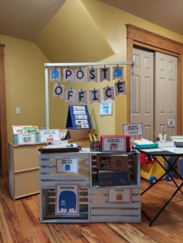 Post Office Dramatic Play Pack for Pre-K, Preschool and Tots