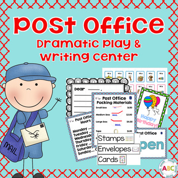Post Office: Dramatic Play and Writing Center