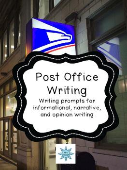 Post Office Field Trip Writing