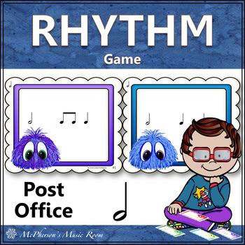 Post Office Rhythm Game Half Note