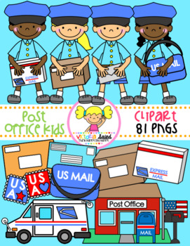 Post Office Kids Clipart
