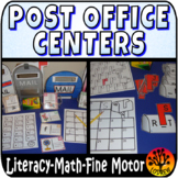 Post Office Centers Mail Activities Community Helpers Recording Sheets
