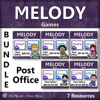 Post Office Music Melody Games {Bundle}