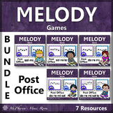 Music Melody Games for Elementary Music {Post Office Bundle}