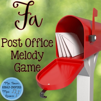 Post Office Melody Game: Fa