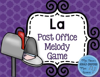Post Office Melody Game: La
