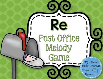 Post Office Melody Game: Re