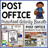 Post Office Preschool Dramatic Play and Activities Bundle