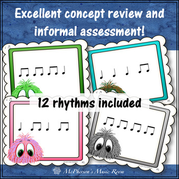 Post Office Rhythm Game Quarter Note and Eighth Notes