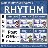 Music Rhythm Games {Post Office Bundle}
