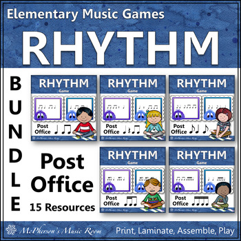Music Rhythm Games {Post Office Bundle}