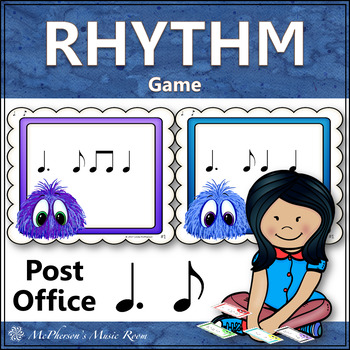 Post Office Rhythm Game Dotted Quarter Note