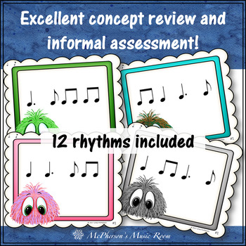Music Rhythm Game Dotted Quarter Note {Post Office}