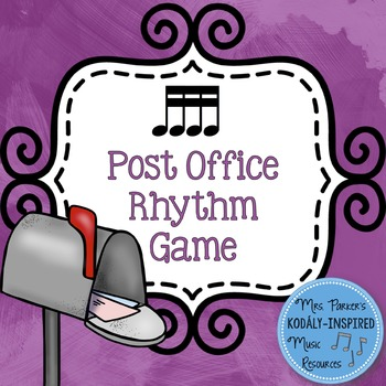 Post Office Rhythm Game: Sixteenth Notes
